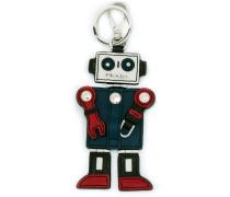 robot charm keyring
