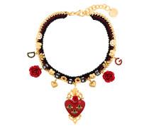 Sacred Heart choker necklace