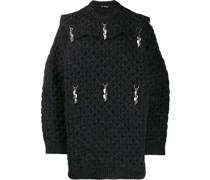 Oversized-Pullover mit Anhängern