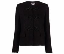 Bestickte Tweed-Jacke