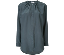 ruched placket top