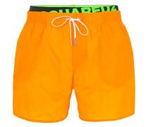 logo band swim shorts