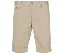 fitted chino shorts