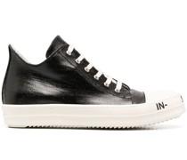 Sneakers mit Slogan-Sohle