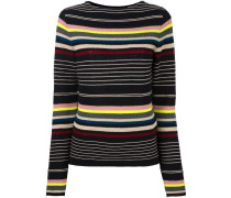 striped crochet jumper