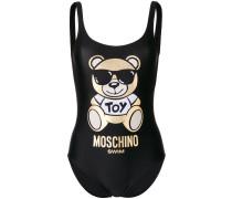 Badeanzug mit Teddybär-Print