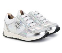 - Sneakers mit Logo-Schild - kids