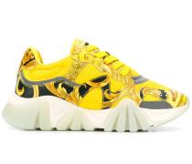 'Squalo' Sneakers mit Barock-Print
