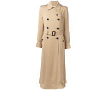 Langer Seidentrenchcoat - women - Seide - 42