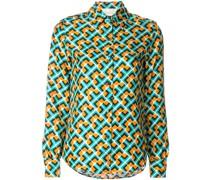 'Domino' Seidenhemd