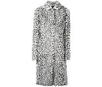 Mantel mit Dalmatiner-Print