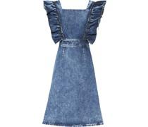 Kleid mit gerüschten Ärmeln