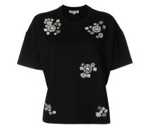 embellished cropped T-shirt