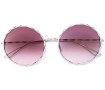 Runde Sonnenbrille - women - metal - 56