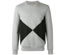 Sweatshirt mit geometrischem Print - men