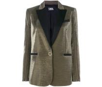 slim fit tuxedo blazer