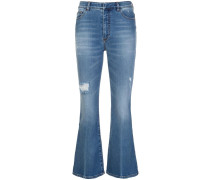 Cropped-Jeans aus Baumwolle