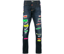Mirrors super straight jeans