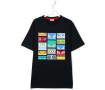"T-Shirt mit ""Bag Bugs""-Print"