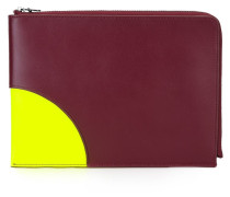'Kurved' Clutch - women - Kalbsleder