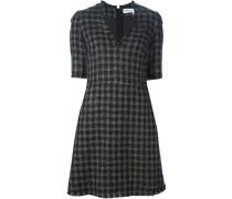Kariertes Tweed-Kleid