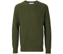 'Suedehead Brushed Crew' Pullover