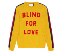 """""""Blind for Love"""" and wolf wool sweater"""