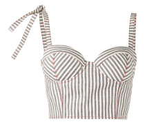 'Bustier' Cropped-Top