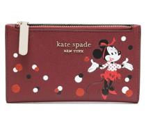 Portemonnaie mit Minnie-Maus-Print