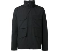 Military-Jacke mit Pattentaschen