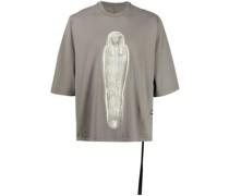 T-Shirt mit Mumien-Print