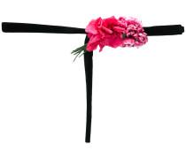 floral tie belt