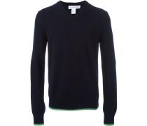Wollpullover mit V-Ausschnitt - men - Wolle - S