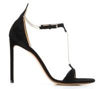 Stiletto-Sandalen mit Ketten