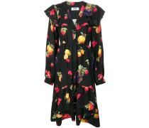 Kleid mit Früchte-Print
