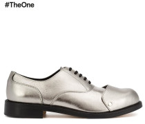Oxford-Schuhe im Metallic-Look - men