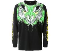 Sweatshirt im Eulen-Print