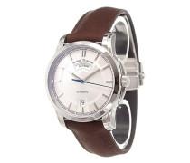 'Pontos Day/Date Retro' analog watch