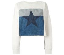 'Fane' Cropped-Sweatshirt