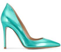 Stiletto-Pumps im Metallic-Look
