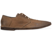 Derby-Schuhe in Distressed-Optik - men - Leder
