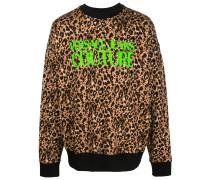 Sweatshirt mit Leoparden-Print