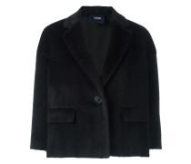 Cropped-Jacke mit einem Knopf