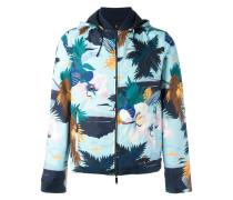 Wendbare Jacke mit tropischem Print