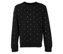 - Sweatshirt mit sternförmigen Nieten - men