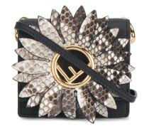 micro black Kan I F snakeskin bag