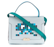 'Space Invaders' Schultertasche