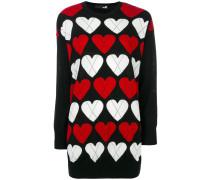 Pullover mit Herzmuster