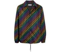 Leichte Jacke mit Ketten-Print