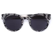 Sonnenbrille mit Rundhalsausschnitt